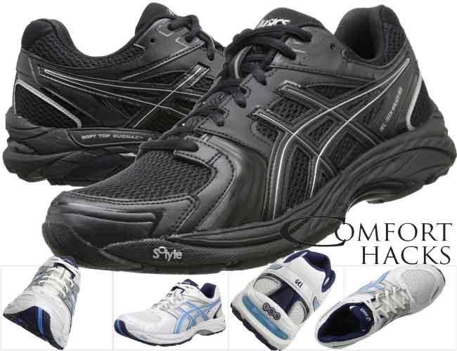 WOMEN's walking shoes for plantar fasciitis. ASICS GEL-Tech Neo 4 Review