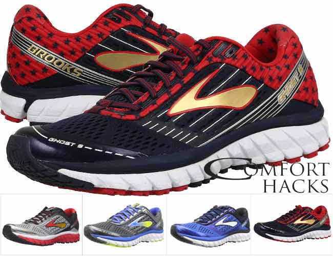 The leader in the men's section are the Brooks Ghost 10