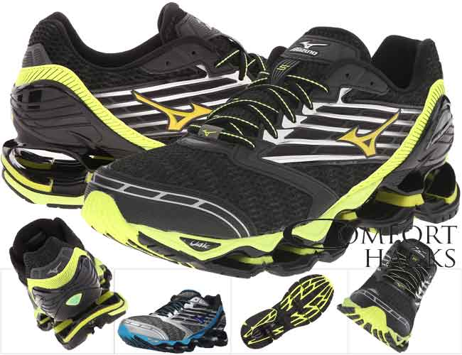 Mizuno Wave Prophecy running shoes are our #2 best choice for high arches and we highly recommend them