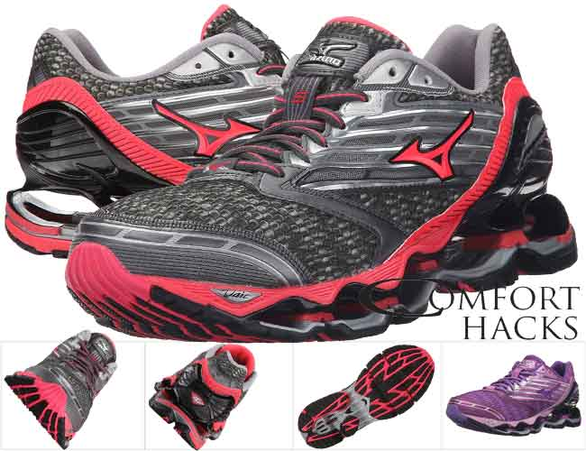 Mizuno Wave Prophecy 6 is the second choice