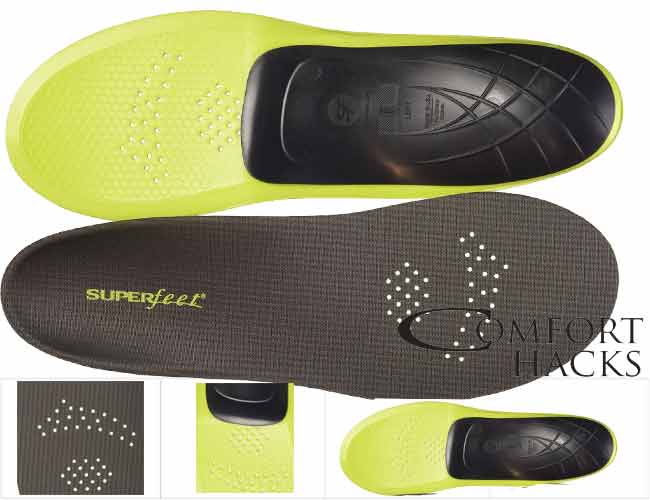 Superfeet Carbon Pain Relief Insoles Review