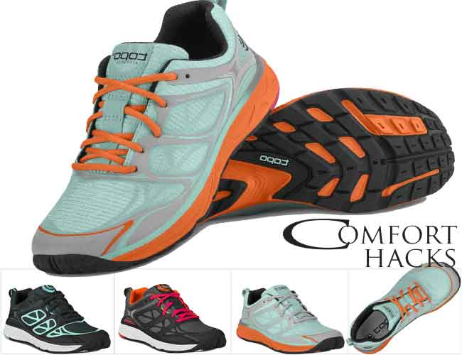Womens running shoes with wide toe box