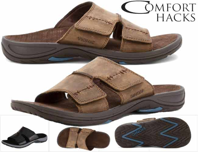 Vionic Jon Men's Slip-on Orthotic Sandal Review