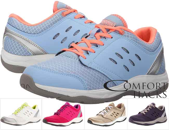 Vionic with Orthaheel Venture Lace Up Sneaker Review